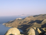 Cyclades/Anafi:view to Santorini
